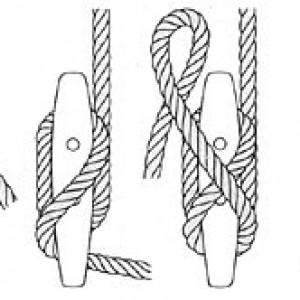 Le nœud de taquet