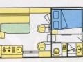 Plan intérieur du N1100